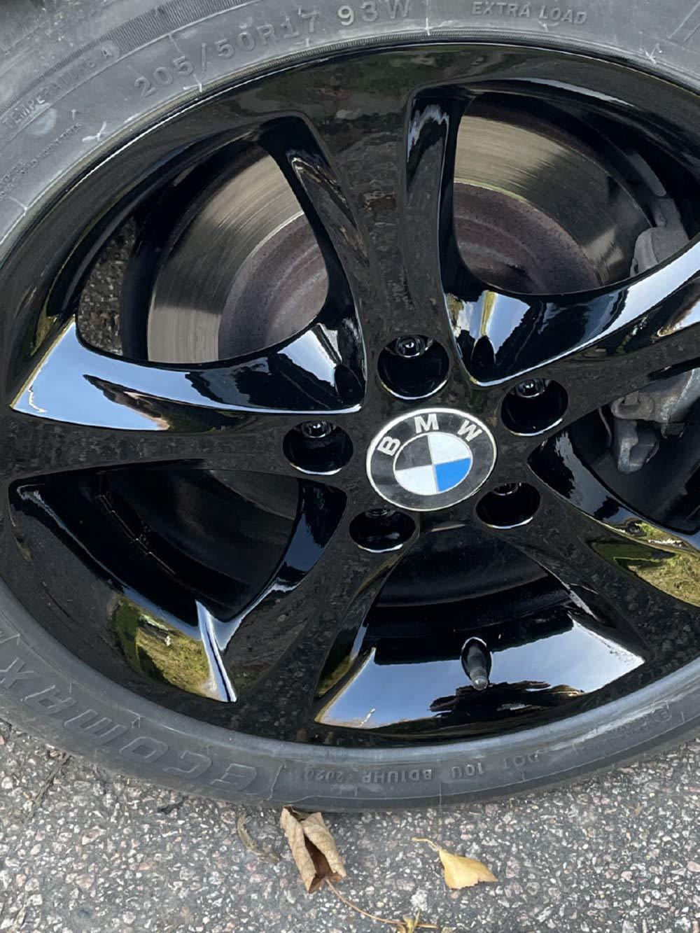 alloy wheel recolouring